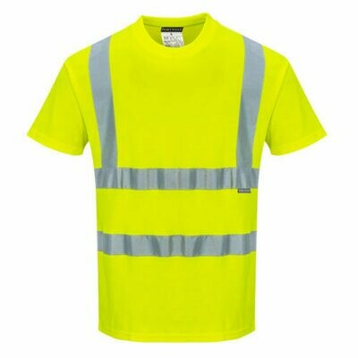 Clothing - Shirts - Cotton Comfort Short Sleeved T-Shirt (PORTWEST)