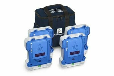 AED Prestan Professional AED Trainer 4-Pack - PP-AEDT-401