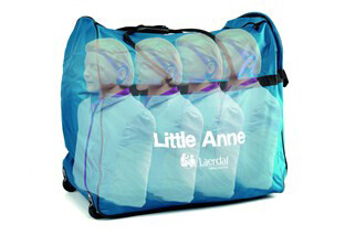 Laerdal Little Anne® CPR Training Manikin 4-Pack (Light Skin) (121-01050)