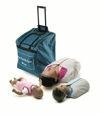 Laerdal Little Family Manikin Pack (Dark Skin) (125-03050)