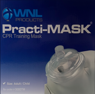 Practi-MASK® Adult/Child CPR Training Mask (Package of 10)