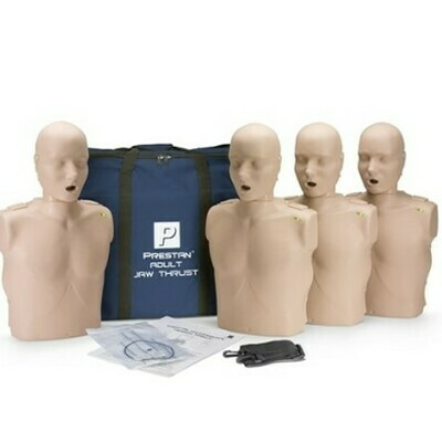 Prestan Jaw Thrust Manikin without CPR Monitor ( 4 Pack)