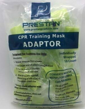Prestan CPR Training Mask Adaptors