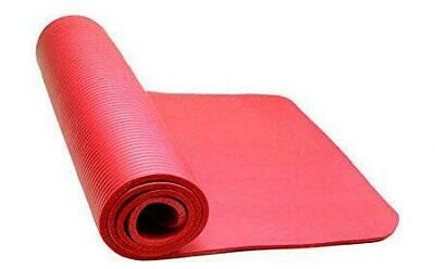 Thick CPR Floor Mat Red 24' X 71'  With Carrying Strap Included