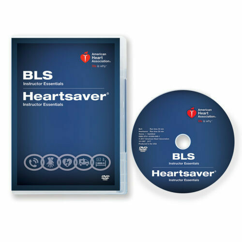 2015 Basic Life Support (BLS)/Heartsaver® Instructor Essentials Course DVD