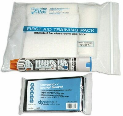 First Aid Training Pack - 1200FAK
