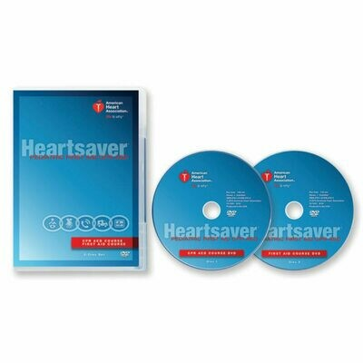 2015 Heartsaver® Pediatric First Aid CPR AED DVD Set  15-1041