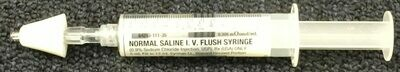 Naloxone (NARCAN) Training device (MAD Nasal Atomization Devise and Normal Saline I.V. Flush Syringe