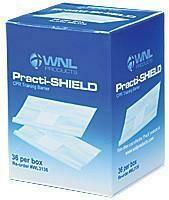 Practi-Shield™ CPR Training Shields 36/Box