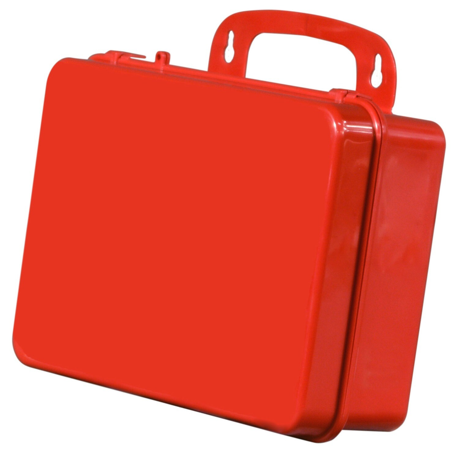 18PR – Empty – Poly Red First Aid Kit
