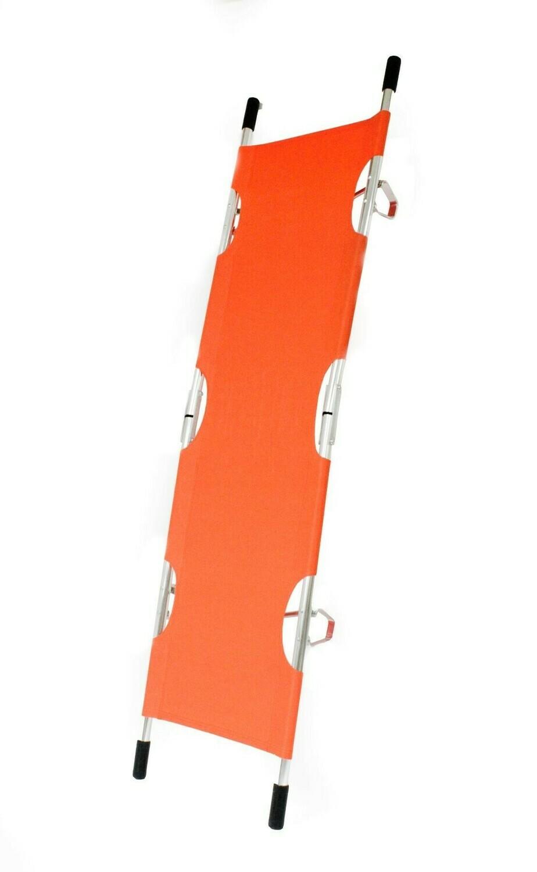 Kemp USA Orange Folding Pole Stretcher