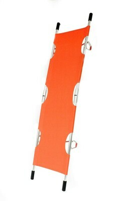 Kemp USA Orange Folding Pole Stretcher