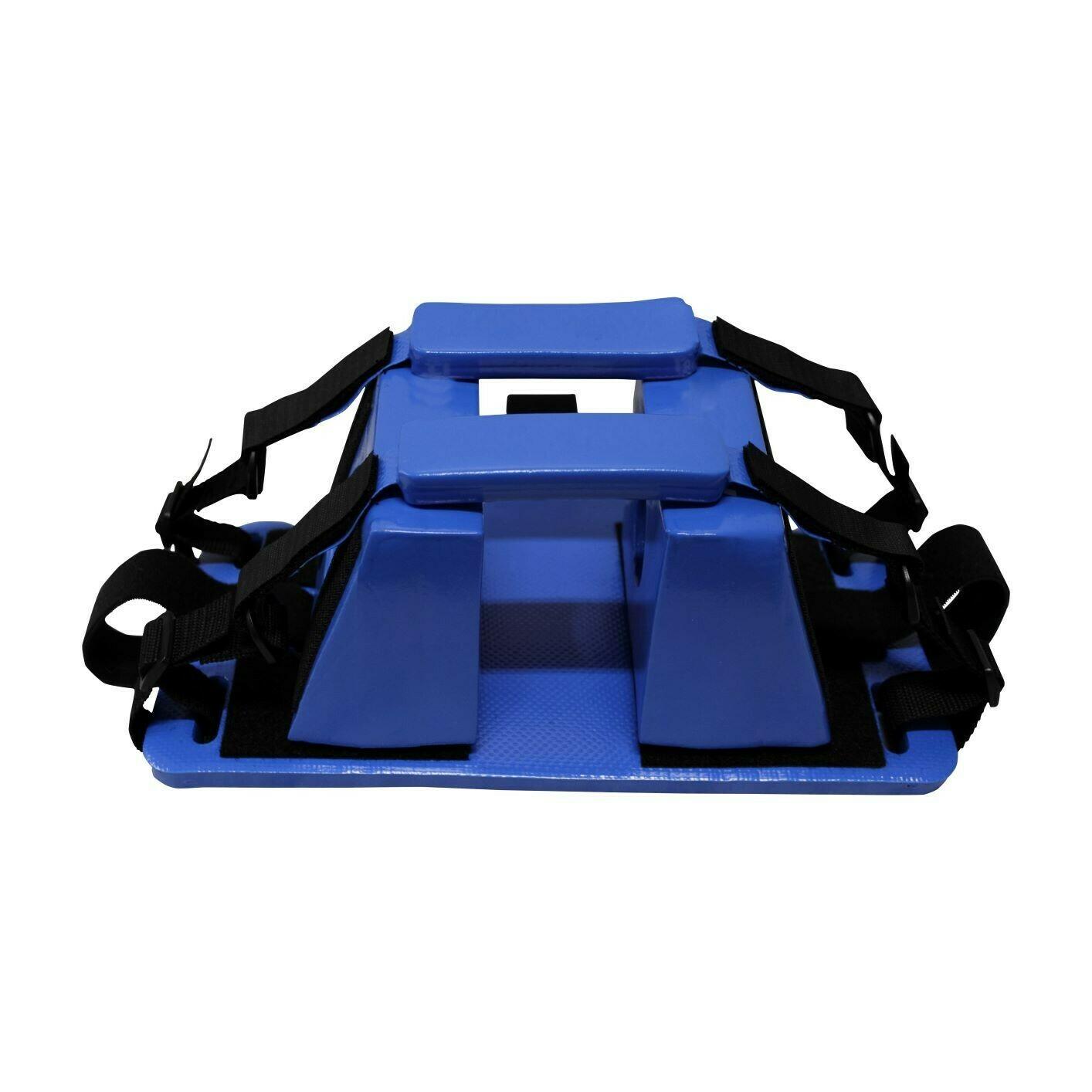 Kemp USA Royal Blue Pediatric Head Immobilzer