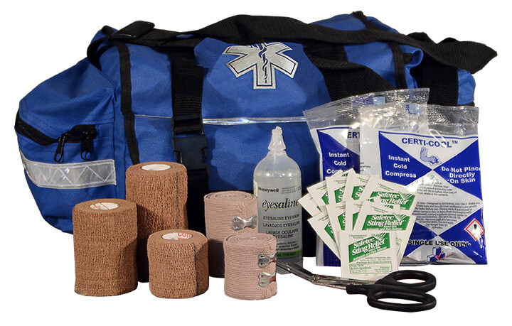 First Aid Kit - TSB1 - Team Sports Bag - BLUE - Certified 610-003