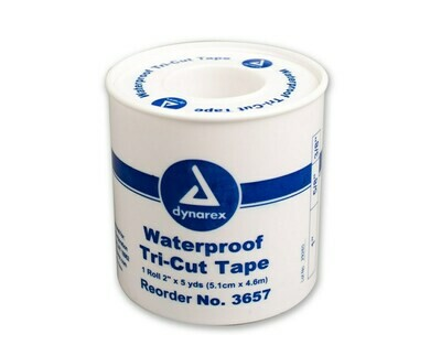 WATERPROOF CLOTH TAPE DYNAREX # 3657 TRI-CUT