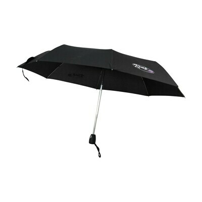KEMP USA BLACK COMPACT AUTOMATIC OPENING/ SELF COLLAPSING TRAVEL UMBRELLA