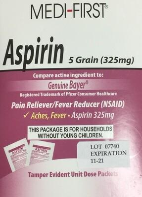 Medi-First Aspirin 25/2's