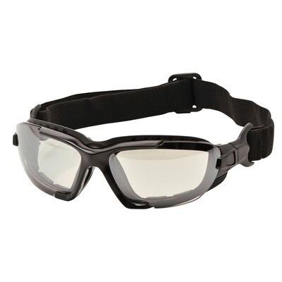 SAFETY GLASSES - LEVO SAFETY SPECTACLE EN166 PW11 - Levo Glasses Clear
