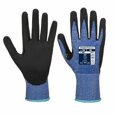 GLOVES AP52 - Dexti Cut Ultra Glove Blue/Black
