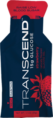 Transcend Glucose - 3 pack - Available in Strawberry