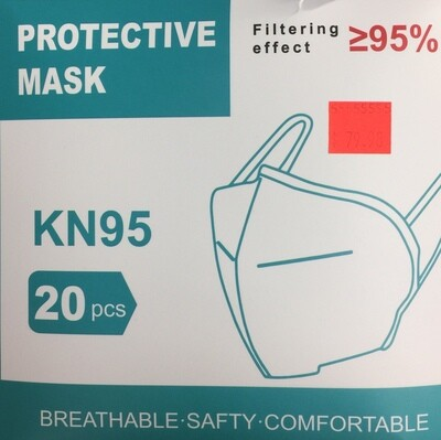 Face Mask - KN95 Protective Mask 20 pack