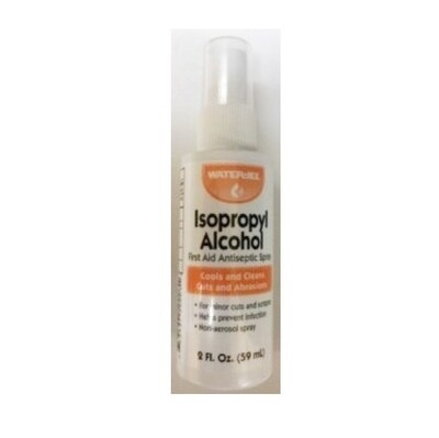 Alcohol - Isopropyl Rubbing Alcohol - 70% - 2oz. Spray Bottle  221-036
