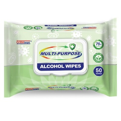 GERMisept Antimicrobial Alcohol Wipes