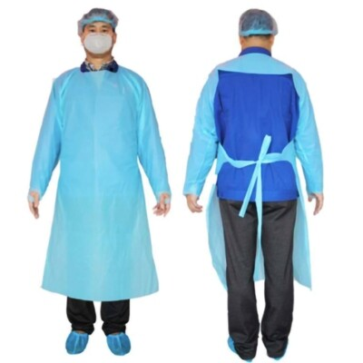 Thumb Hole      Add to Wish List    Send link via email Protective Long Sleeve Gown - 10/Pack