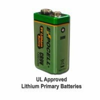 LITHIUM 9V BATTERY EXPOCELL