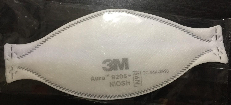 3M Auro 9205 NIOSH N95 Mask sold individually