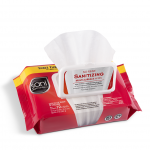 SANI Professional SANITIZE No-Rinse Sanitizing Wipes Softpack - Multi-Surfaces 72 Wipes