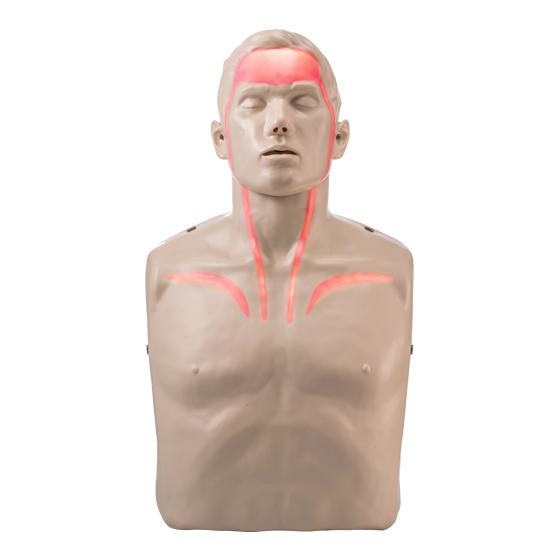 Brayden CPR Manikin with Red LED Lights IM13-R
