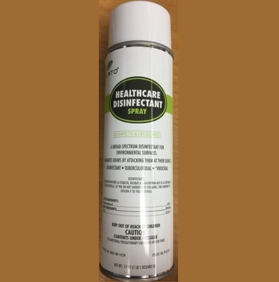 Certo Healthcare Disinfectant Spray 17 Ounce