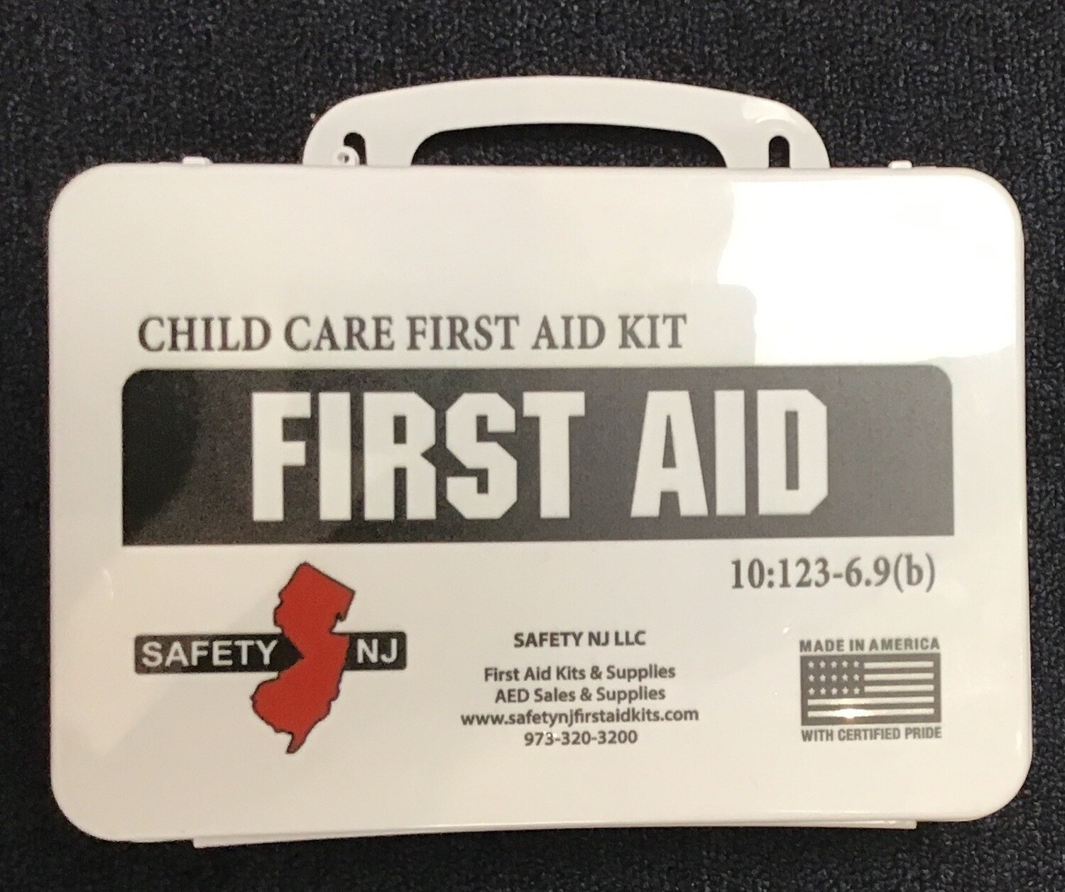 NJ Home Daycare First Aid Kit - Program for Parents