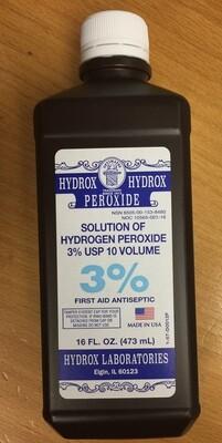 Hydrogen Peroxide 16 oz 3%