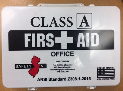 Class A Office First aid Kit  Metal 616-033