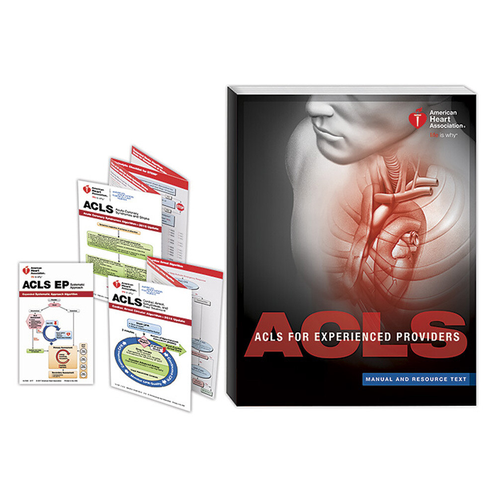 2015 ACLS For Experienced Providers (ACLS EP) Manual And Resource Text 15-1064
