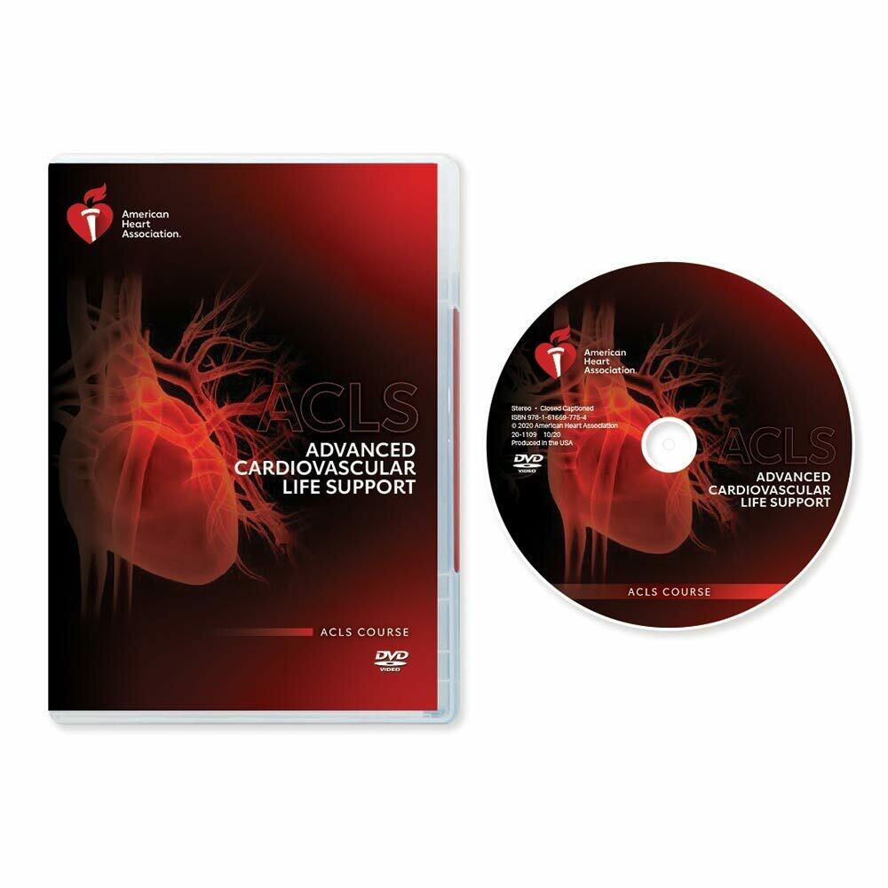 AHA 2020 ACLS (Advanced Cardiovascular Life Support) DVD