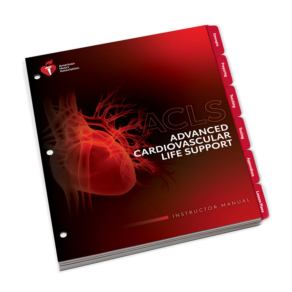 AHA 2020 ACLS Instructor Manual