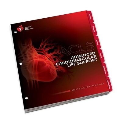 AHA 2020 ACLS Instructor Manual
