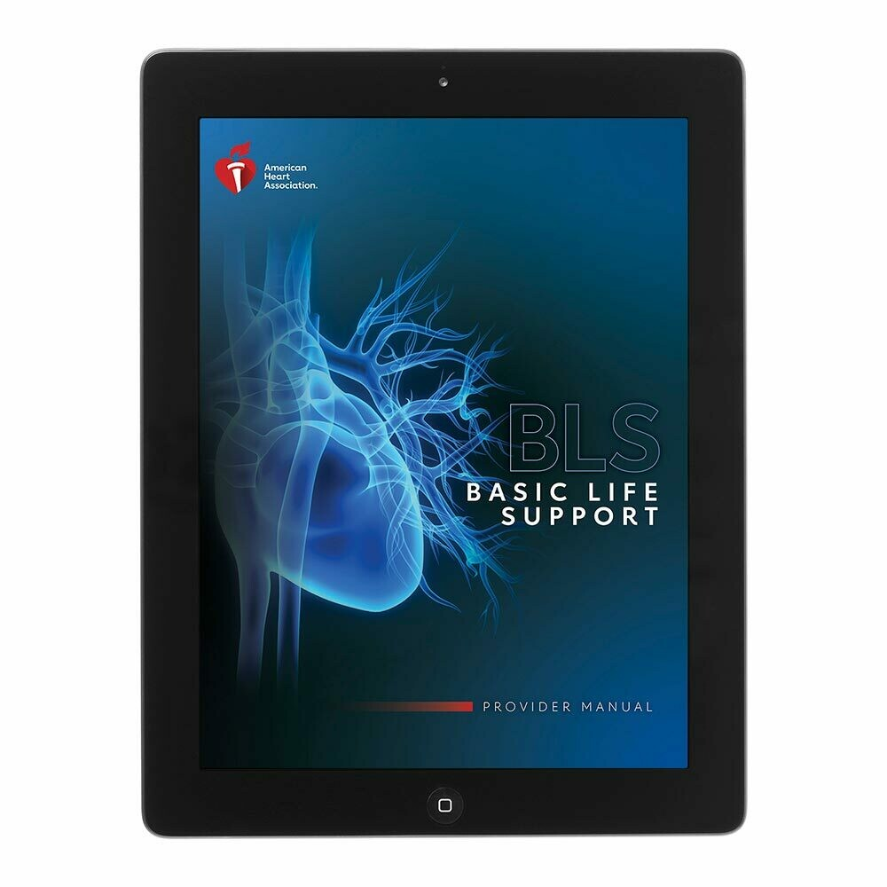 AHA 2020 BLS Provider Student Manual eBook