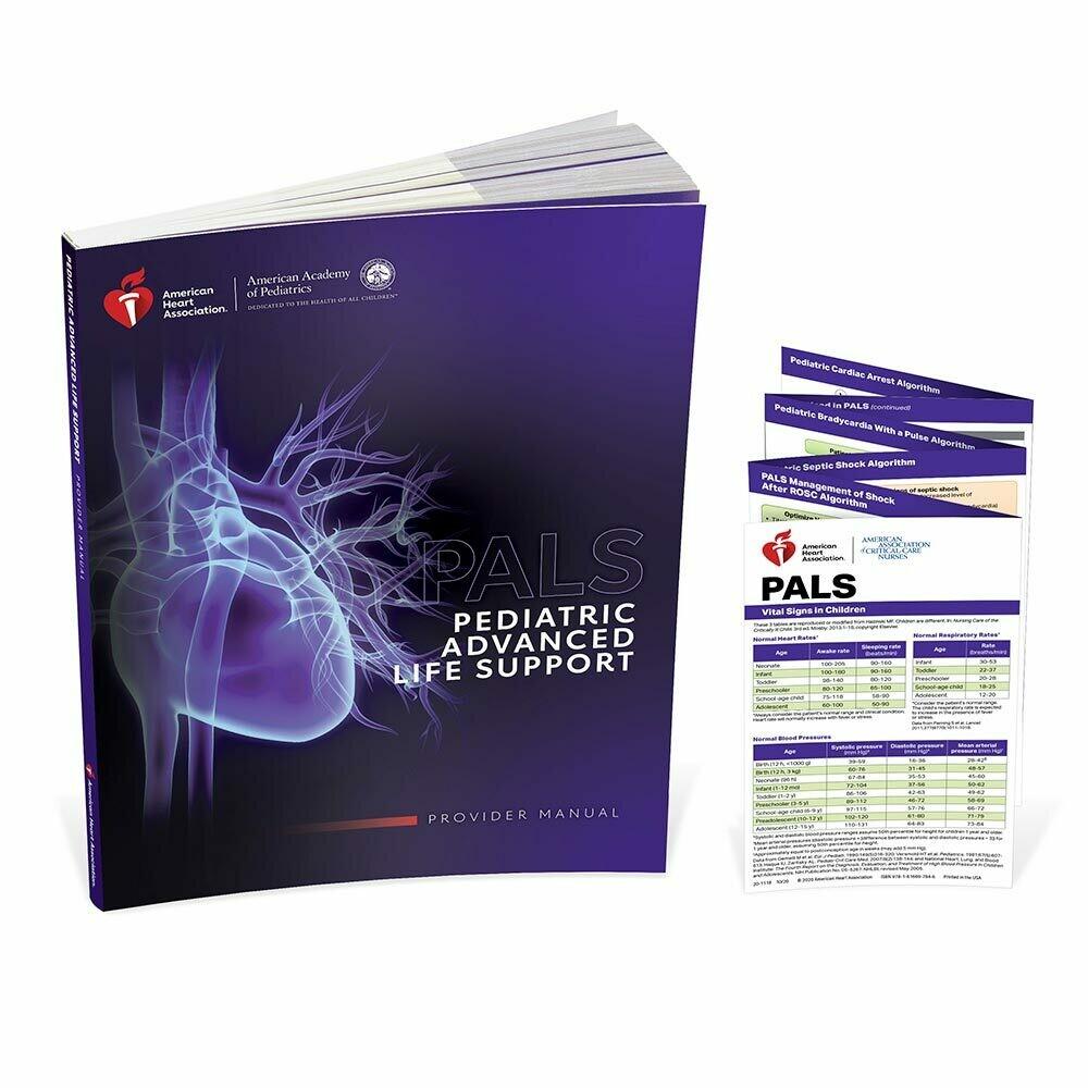 AHA 2020 PALS Provider Manual (Student Workbook)