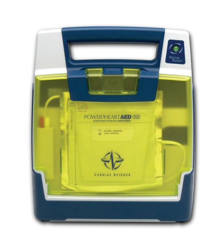 Cardiac Science Powerheart® AED G3 Plus for Aviation