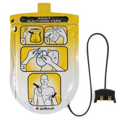 Defibtech Lifeline™ or Lifeline AUTO AED Adult Defibrillation Electrode Pads