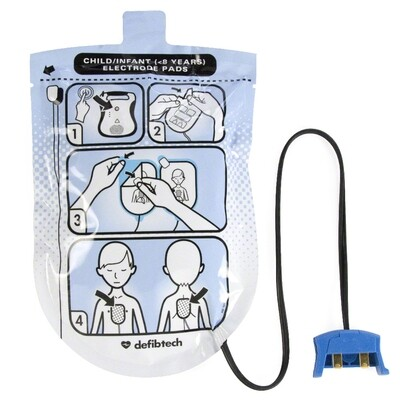 Defibtech Lifeline™ or Lifeline AUTO AED Pediatric Defibrillation Electrode Pads