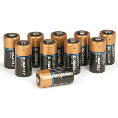 ZOLL® AED Plus® Replacement Lithium Batteries (Set of 10)