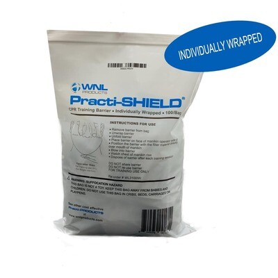 Practi-SHIELD® INDIVIDUALLY WRAPPED 100/BAG