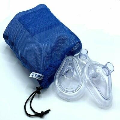 Practi-MASK® Adult/Child CPR Training Mask 2-OK MESH BAG