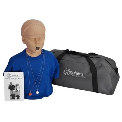 Simulaids Adolescent Choking Manikin w/Carry Bag
