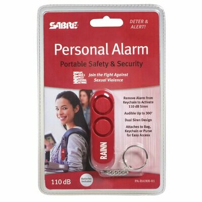 Personal Alarm - RED (Supports RAINN) PA-RAINN-01